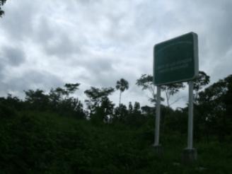 la linea entre Guatemala y Mexico