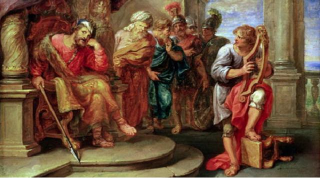 Salmo 18: el canto de David después de salvarle Dios de Saúl