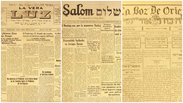 Prensa judía en Turquía, en judeoespañol, desde el CIDICSEF de Buenos Aires