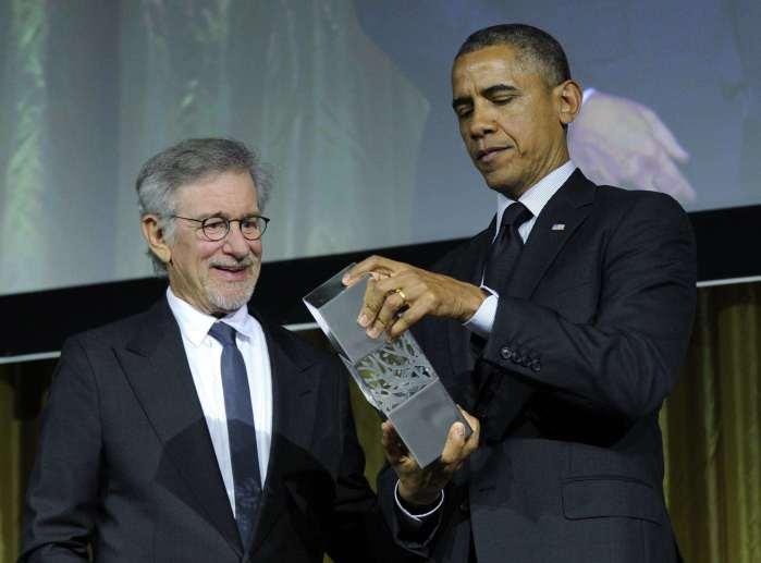 Spielberg pone a Obama en primer plano