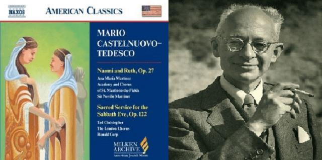 Naomí y Ruth, una cantata para shavuot de Mario Castelnuovo-Tedesco