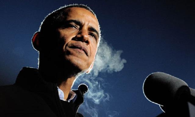 Obama mira para otro lado