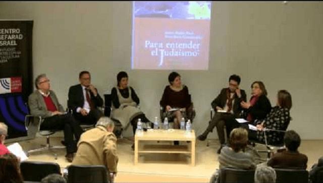 """Presentación del libro: """"Para entender el judaísmo: sugerencias interdisciplinares"""" (Centro Sefarad-Israel, Madrid, 31/10/2013)"""