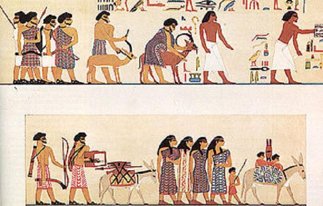 La fuerza de Simeón, segundo hijo de Jacob