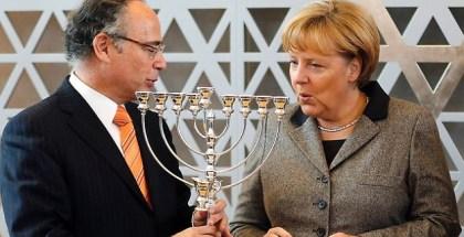 Judios en Alemania-Merkel