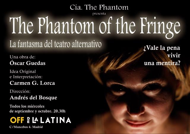 """The Phantom of the Fringe"", con Carmen García Lorca"