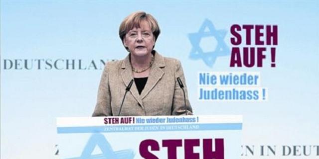 Alemania y los judíos:  de Nuremberg a Angela Merkel