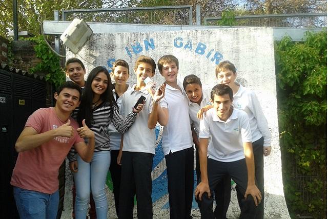 ¡Feliz 5775 desde el colegio Ibn Gabirol-Estrella Toledano!