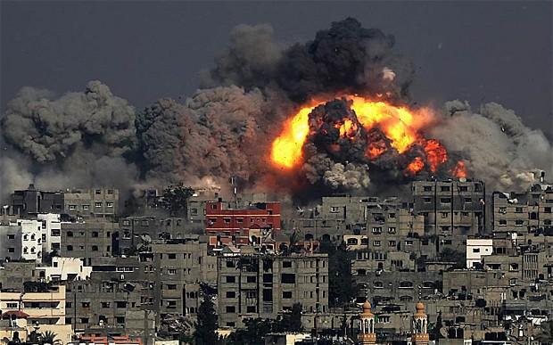 Los medios olvidan los cohetes de Hamás