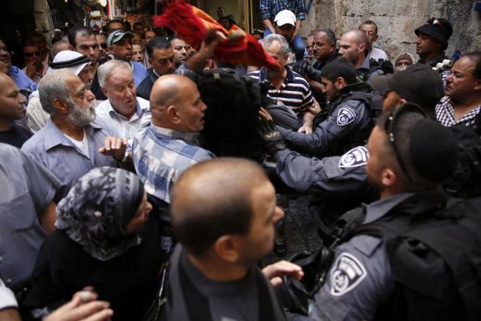 Tensión en las calles de Jerusalén