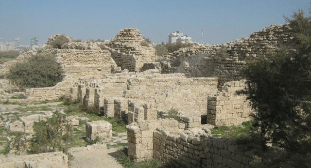 La ciudad bíblica de Ashdod