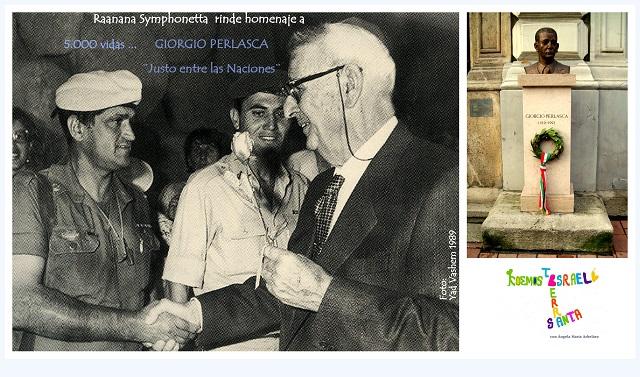 Honrar la vida a Giorgio Perlasca, Justo entre las Naciones. Homenaje en Raanana (1ª parte)
