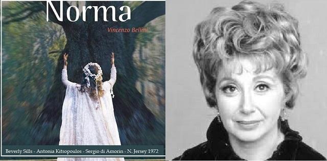 """""""Norma"""" de Bellini, con Beverly Sills"""