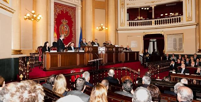 Acto del Día Oficial de la Memoria del Holocausto y la Prevención de los Crímenes contra la Humanidad (Senado, Madrid, 27/1/2015)