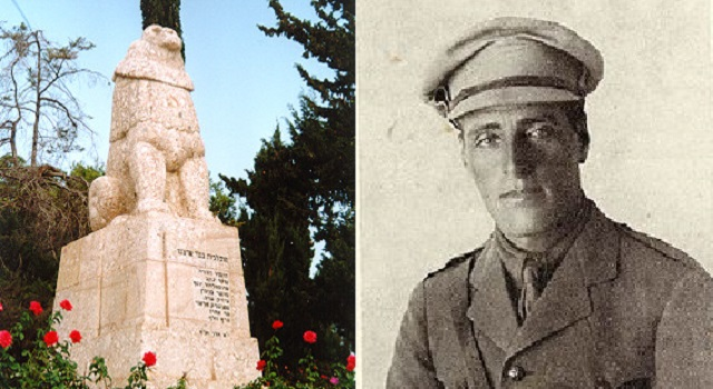 Centenario de la muerte de Josef Trumpeldor, el primer héroe israelí