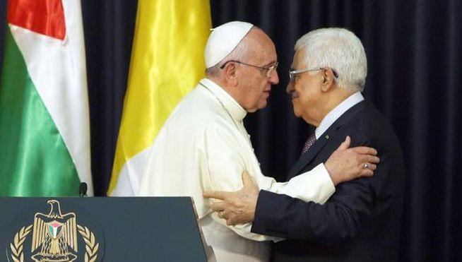 El ángel de Abbas y la paz de Francisco