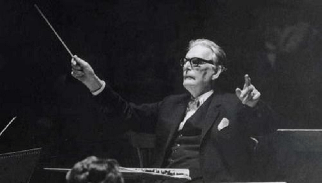 Otto Klemperer cumpliría 130 y lo festejaría con la 8ª de Beethoven