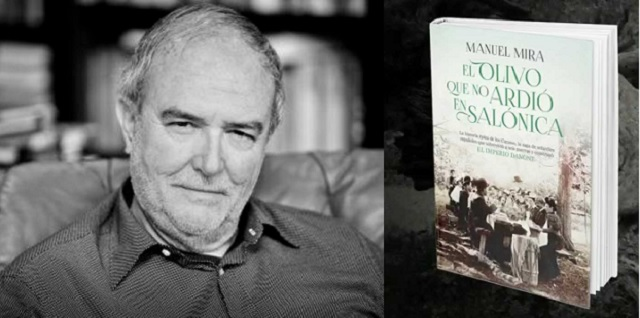 """""""El olivo que no ardió en Salónica"""", con su autor Manuel Mira"""
