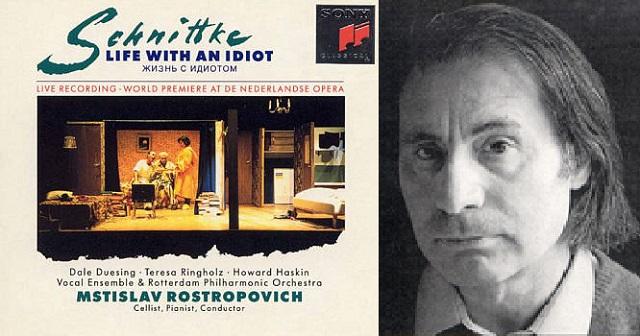 """""""La vida con un idiota """", de Alfred Schnittke"""