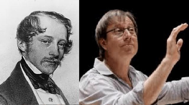 David Stern dirige una sinfonía de Otto Nicolai