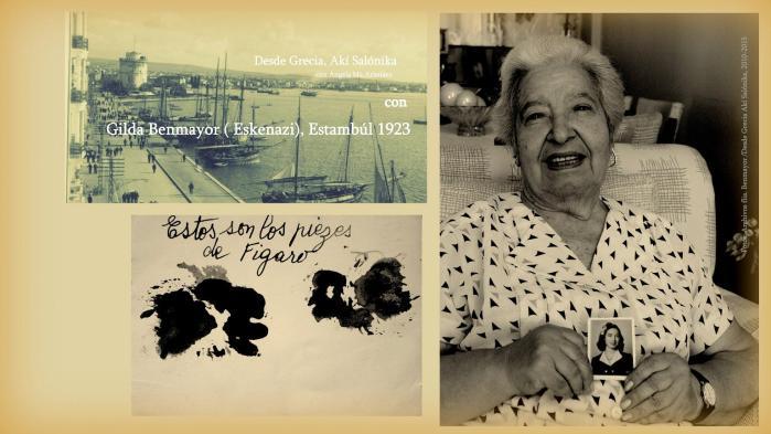 Recordar junto a Gilda Benmayor y Marió en Jerusalén