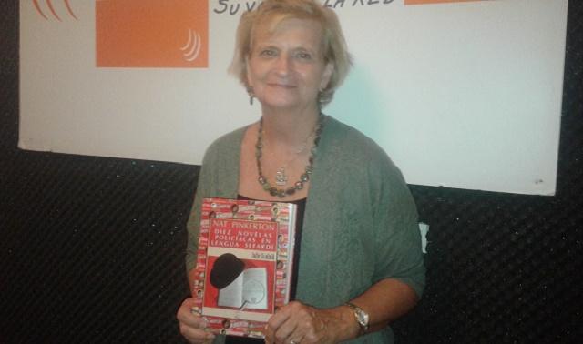 """""""Nat Pinkerton. Diez novelas policíacas en lengua sefardí"""", con su autora Julie Scolnik"""
