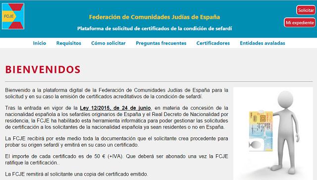 Entra en vigor la Ley de Nacionalidad Española a Sefardíes