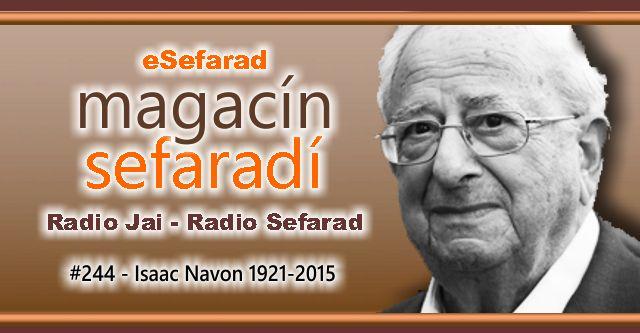 """Isaac Navón (Z""""L) 1921-2015"""