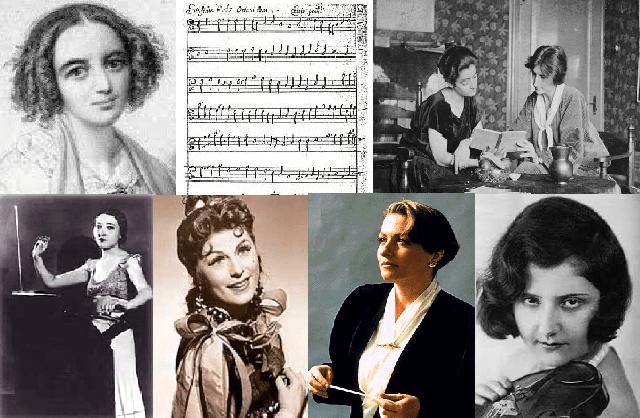 Mujeres judías en la música: compositoras, directoras e intérpretes, por Jorge Rozemblum (CEMI, Madrid, 3/11/2015)