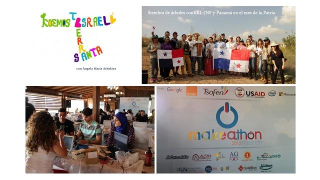 Panamá y KKL siembran árboles – Por un mundo mejor con Makeathon en Nazaret