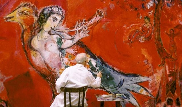 """""""Marc Chagall: el Triunfo de la música"""", con Alicia Perris"""