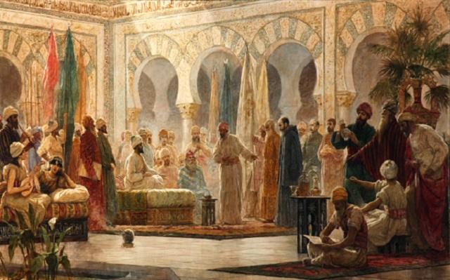 El predilecto Hasday Ibn Shaprut, con Rafael Cámara