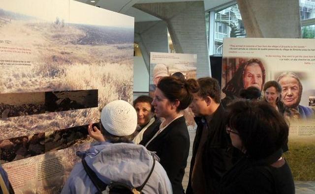 Una exposición y un seminario, La Shoá por balas. 10 años de investigación de Yahad-In Unum, con Yessica San Román