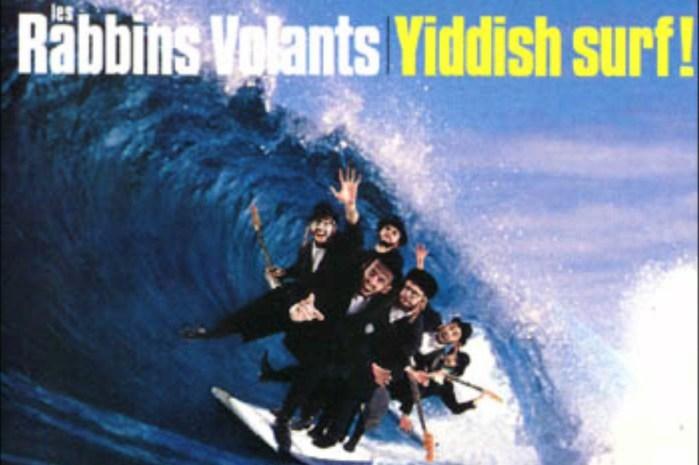 Les Rabbins Volants: surf rabínico