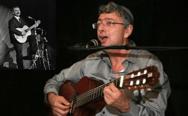 Isaac Attia chante Brassens à Jérusalem
