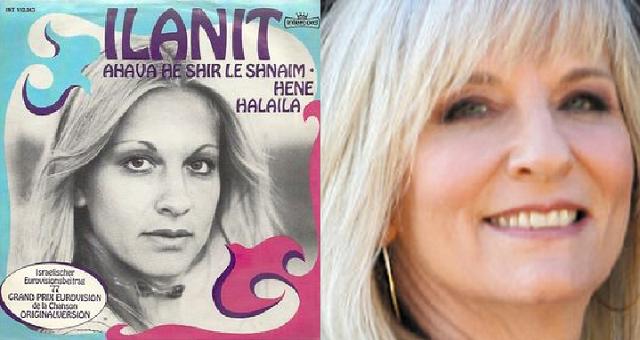Ilanit: la voz más israelí en Eurovisión