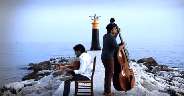 Adam Ben Ezra y su contrabajo-orquesta