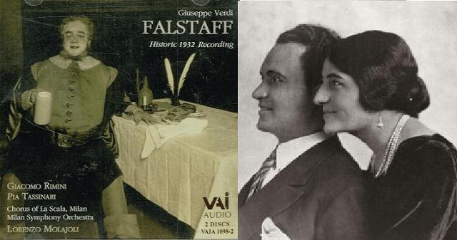 """""""Falstaff"""" de Verdi, con Giacomo Rimini"""