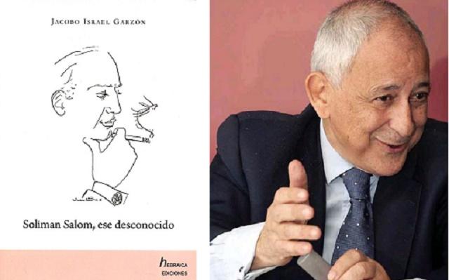 """""""Soliman Salom, ese desconocido"""" con su autor y editor Jacobo Israel Garzón"""