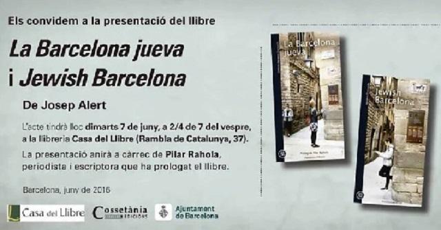 """""""La Barcelona judía"""" de Josep Alert"""