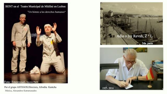Adio… Isaac Isy Revah (1923-2016). Dos Patrias (2ª parte)