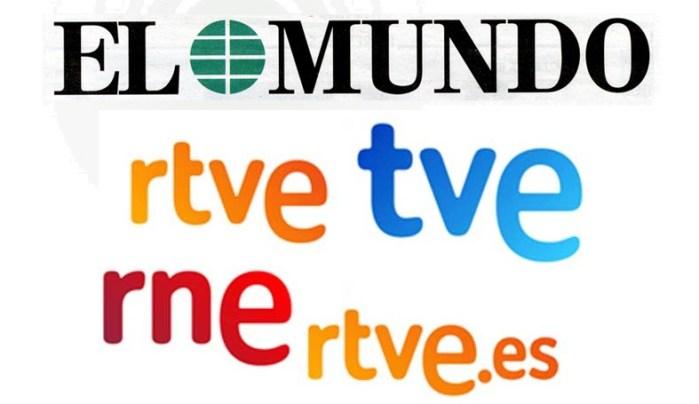 El sesgo informativo de RTVE y El Mundo