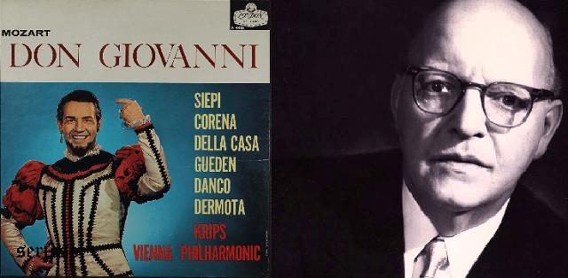 """Don Giovanni"" de Mozart, dirigido por Josef Krips"