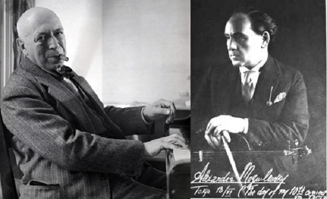 Mogilevsky  y Kreutzer: dos judíos rusos en Japón