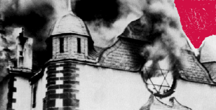 sinagoga ardiendo