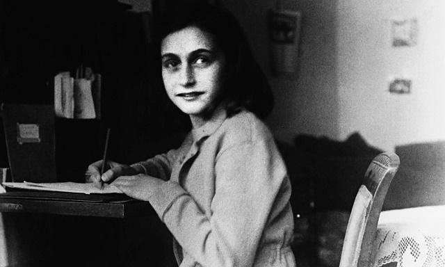Ana Frank el 9 de octubre de 1942