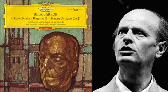 """""""El castillo de Barbazul"""" de Bartok, dirigida por Ferenc Fricsay"""