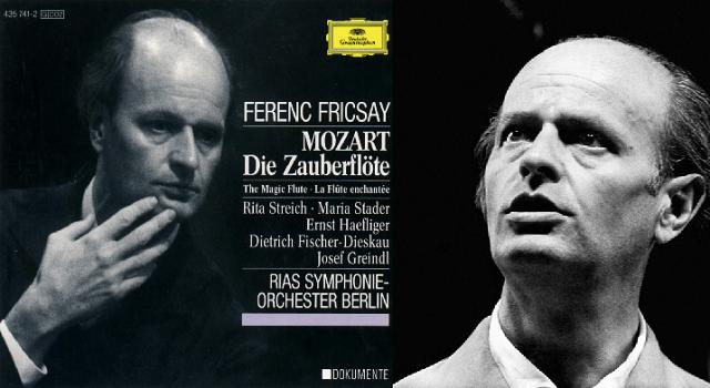 """""""La flauta mágica"""" de Mozart, dirigida por Ferenc Fricsay"""