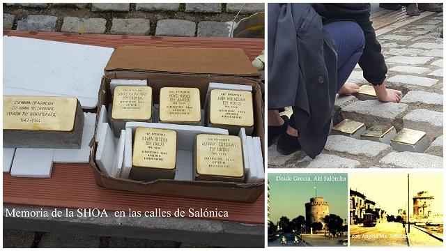 Piedras de la memoria… huellas de la Shoá en las calles de Salónica