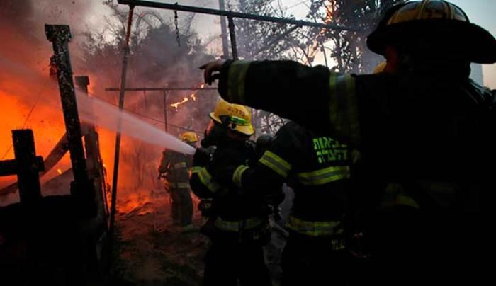 Los incendios de Israel en los periódicos españoles